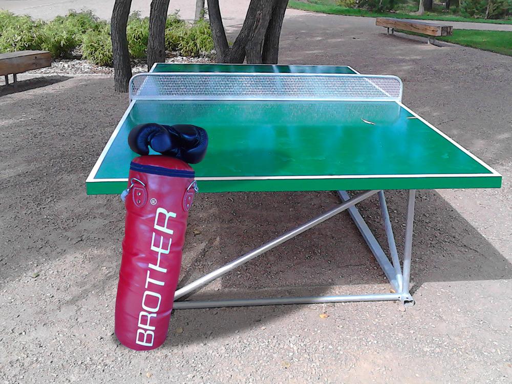 Ping pong + box